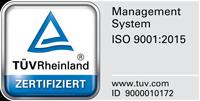 ISO-9001-Zertifikatssiegel
